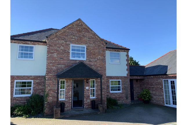 Detached house for sale in Rhos Common, Four Crosses, Llanymynech