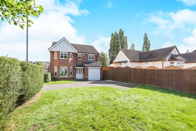 Thumbnail Detached house for sale in Century Drive, Willenhall