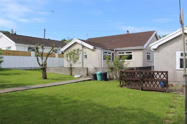 Thumbnail Detached bungalow for sale in The Lane, Wernffrwd, Llanmorlais