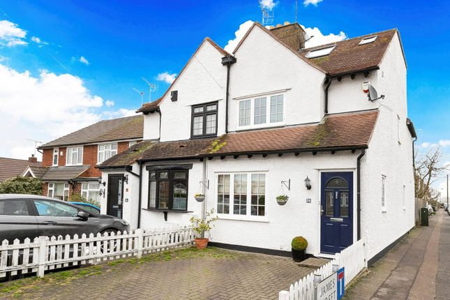 Semi-detached house for sale in Lindsey Street, Epping, Essex