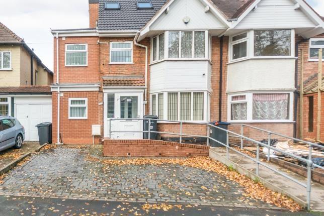 Thumbnail Semi-detached house for sale in Stoney Lane, Yardley, Birmingham, West Midlands
