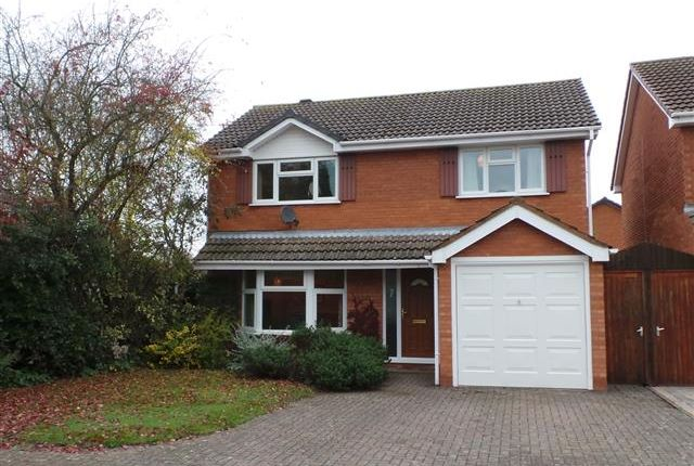 Thumbnail Detached house for sale in Admiral Parker Drive, Shenstone, Lichfield, Staffordshire