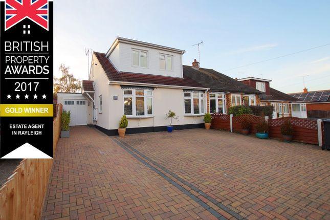 Thumbnail Semi-detached house for sale in Burnham Road, Hullbridge, Hockley
