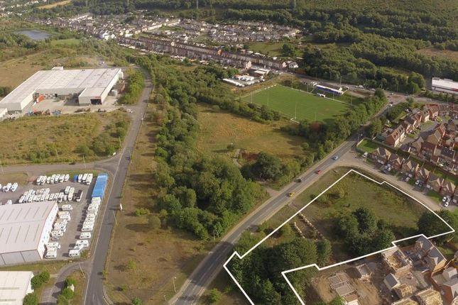 Thumbnail Land for sale in Site C4, Aberaman Park Industrial Estate, Aberdare