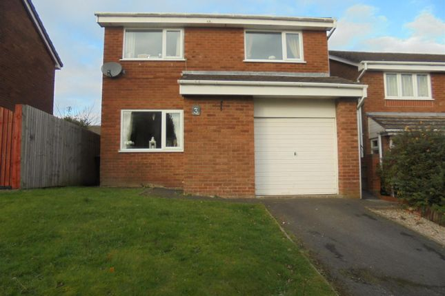 Thumbnail Detached house for sale in Ludlow Drive, Stirchley, Telford