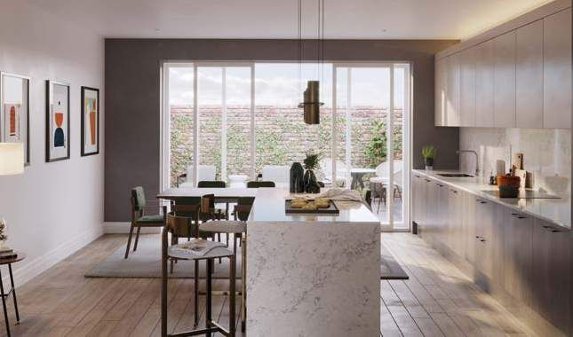 Thumbnail Town house for sale in Church Way, Hampstead, London