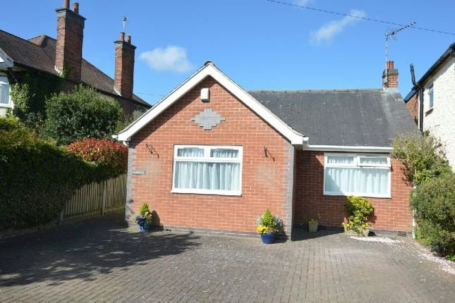 Thumbnail Detached bungalow for sale in Winchester Road, Blaby, Leicester