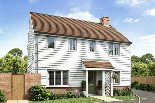 "Thumbnail Detached house for sale in ""The Clayton Corner"" at Rattle Road, Stone Cross, Pevensey"