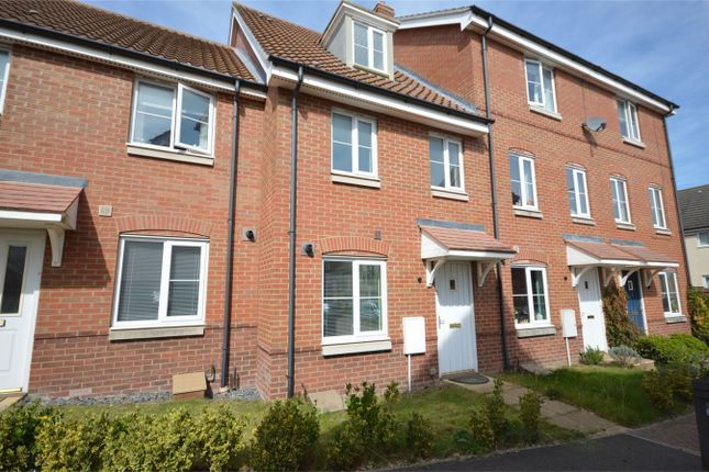 Thumbnail Town house for sale in Dunnock Drive, Queens Hills, Costessey, Norwich