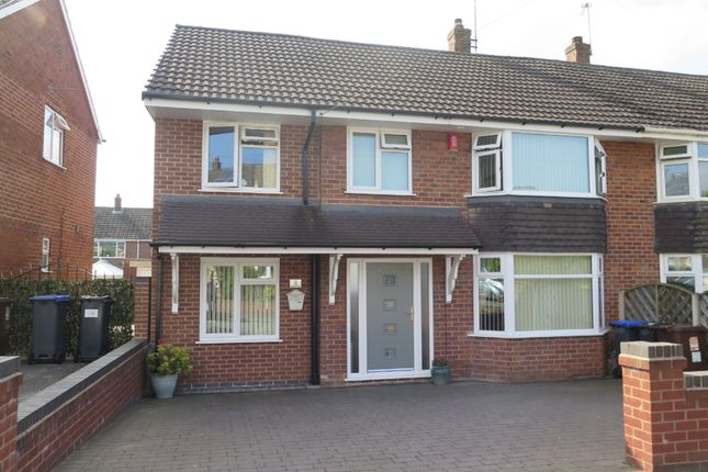 Thumbnail Semi-detached house for sale in Dove Road, Forsbrook, Stoke-On-Trent