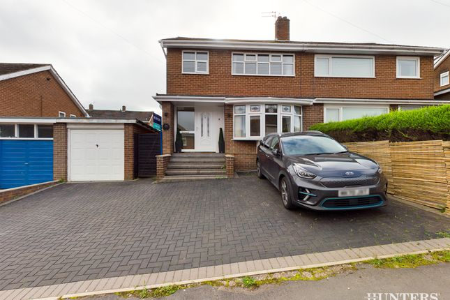 Thumbnail Semi-detached house for sale in Cumberland Road, Consett
