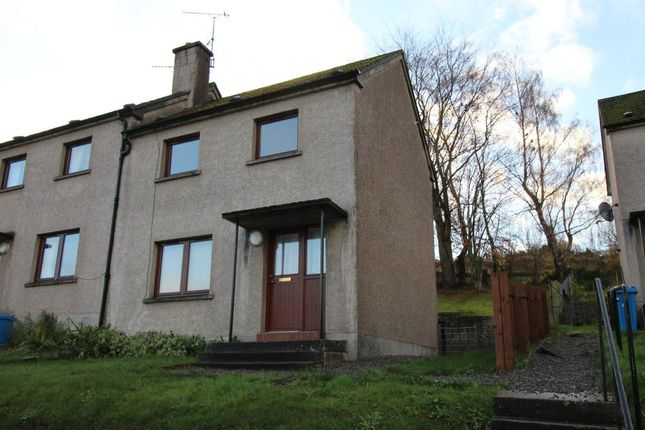 Thumbnail Semi-detached house to rent in Macrae Crescent, Dingwall