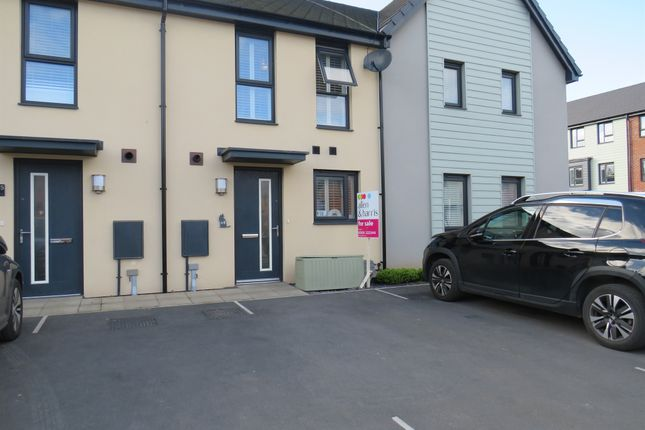 Thumbnail Terraced house for sale in Ffordd Pentre, Barry