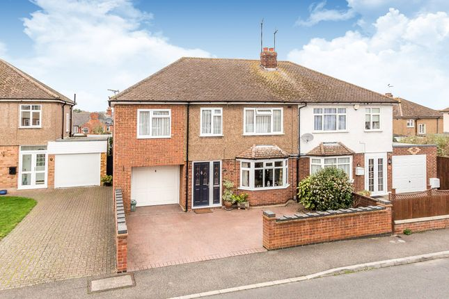 Thumbnail Semi-detached house for sale in York Close, Higham Ferrers, Rushden