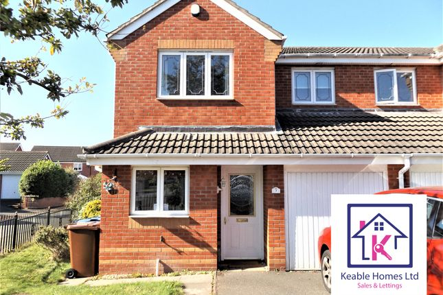 3 bed semi-detached house to rent in Newmarket Road, Norton Canes, Cannock WS11