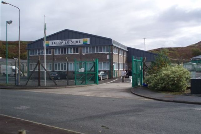 Thumbnail Warehouse for sale in Forge Road, Machynlleth