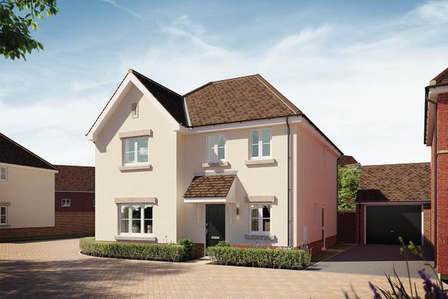 Thumbnail Detached house for sale in Greenway Place, Houghton Conquest, Bedford