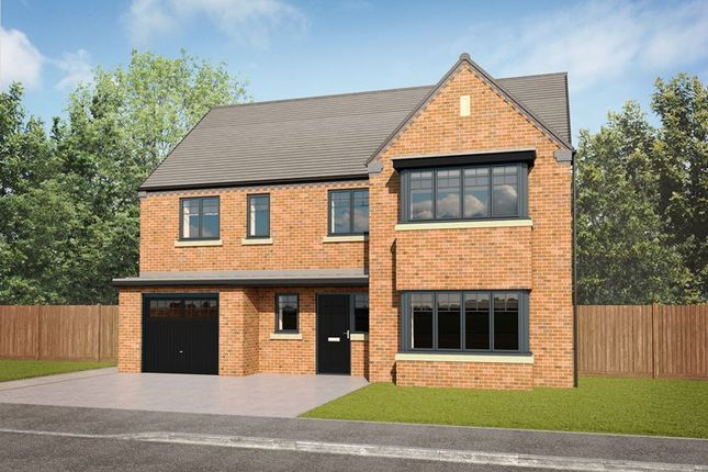 Thumbnail Detached house for sale in Moorfields, Whitehouse Drive, Killingworth, Northumberland