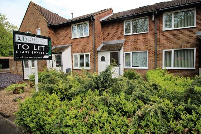 Thumbnail Terraced house to rent in Harewood Close, Boyatt Wood
