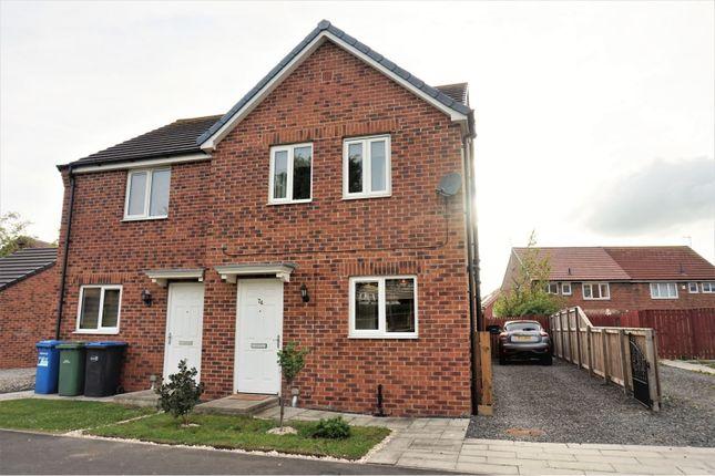 Semi-detached house for sale in Fairbairn Road, Peterlee