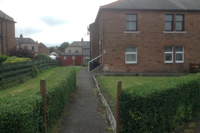 Thumbnail Flat to rent in 28 Barrie Avenue, Dumfries