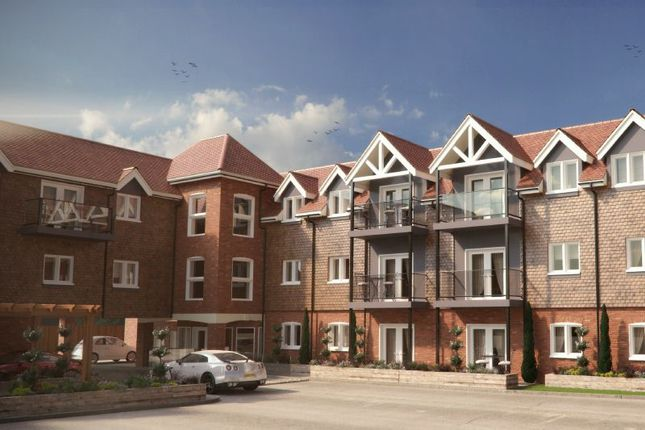 Thumbnail Flat for sale in Connaught Road, Brookwood, Woking