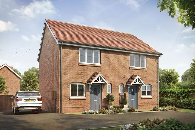 Thumbnail Semi-detached house for sale in The Green, Ullesthorpe, Lutterworth