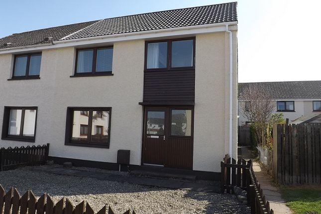 Thumbnail 3 bed semi-detached house for sale in Shillinghill, Alness