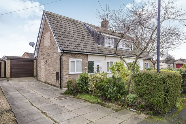 Thumbnail Semi-detached house for sale in Springfield Close, Armthorpe, Doncaster
