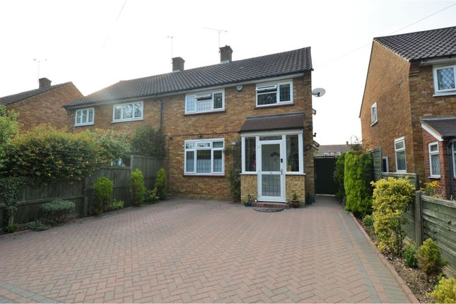 Thumbnail Semi-detached house for sale in Rayleigh Road, Brentwood
