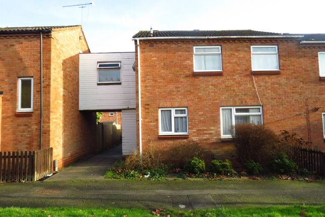 Thumbnail End terrace house for sale in Exhall Close, Church Hill South, Redditch