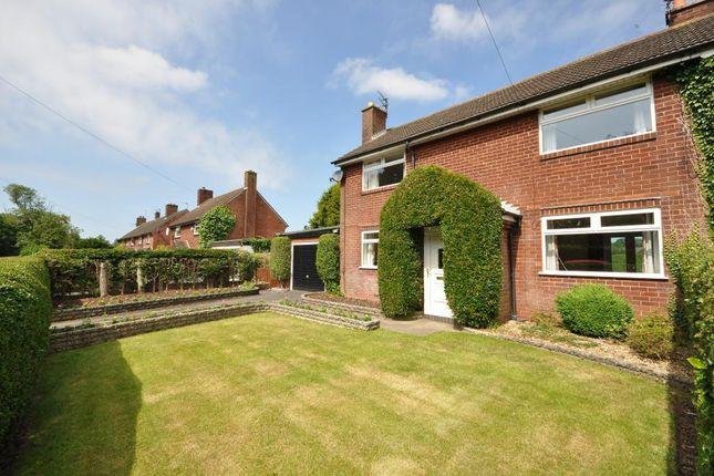 Thumbnail Semi-detached house for sale in Bradshaw Lane, Greenhalgh, Preston, Lancashire
