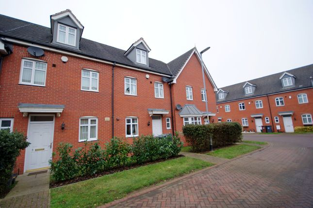Thumbnail Town house to rent in Byland Close, Lincoln