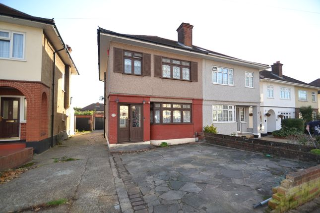 Thumbnail Semi-detached house for sale in Victoria Avenue, Collier Row, Romford
