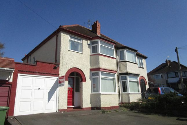 Thumbnail Semi-detached house for sale in Churchfield Road, Oxley, Wolverhampton