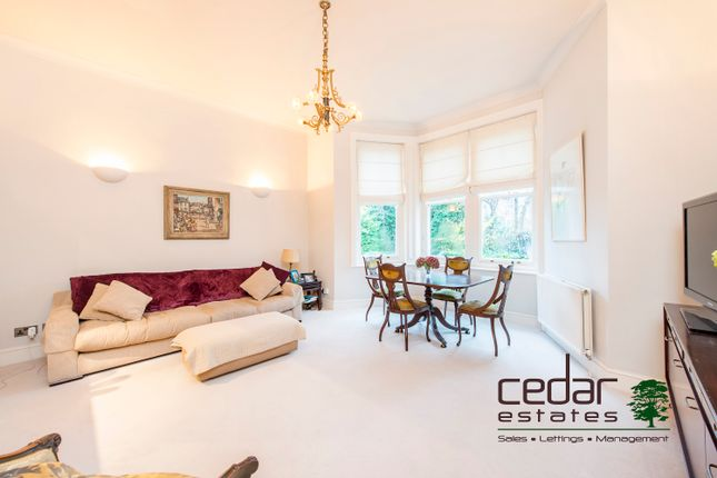Thumbnail Flat to rent in Greencroft Gardens, South Hampstead