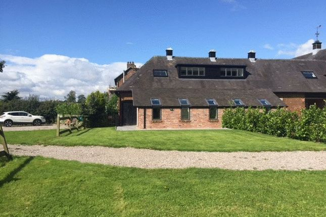 Thumbnail Barn conversion for sale in Willow Barn, Caverswall Lane, Caverswall