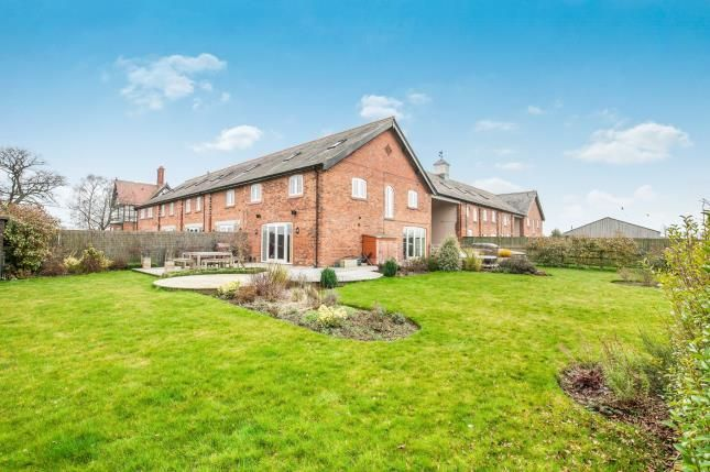 Thumbnail Barn conversion for sale in Stanthorne Park Mews, Clive Green Lane, Stanthorne, Middlewich