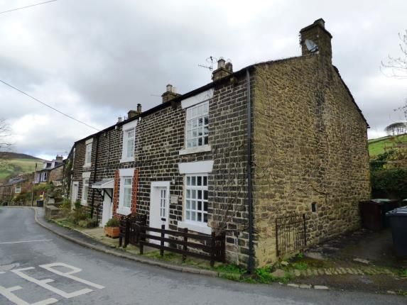 Thumbnail End terrace house for sale in Kinder Road, Hayfield, High Peak