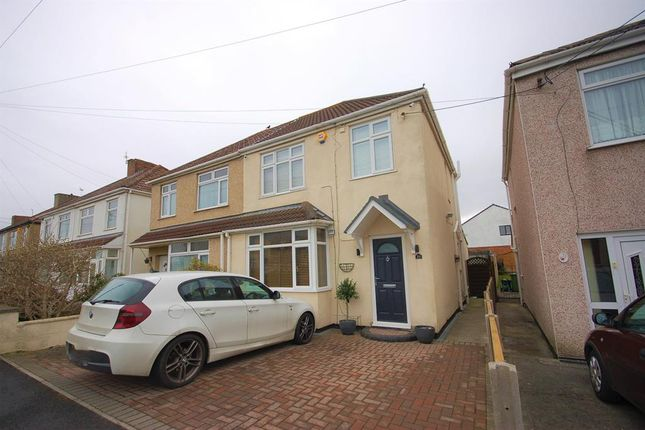 Thumbnail Semi-detached house for sale in Counterpool Road, Bristol