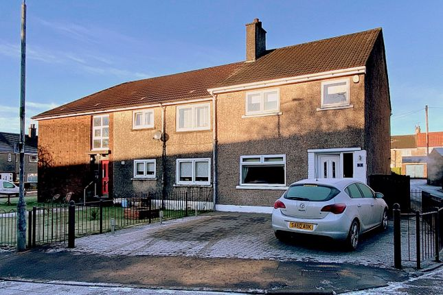 Thumbnail Semi-detached house for sale in Third Avenue, Dumbarton, West Dunbartonshire