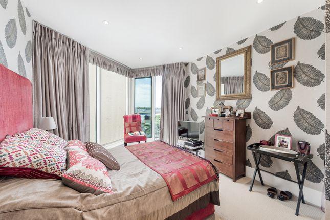 Bedroom of Kingfisher House, Battersea Reach, London SW18