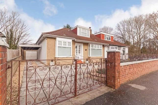 Thumbnail Bungalow for sale in Kingspark Avenue, Rutherglen, Glasgow, South Lanarkshire