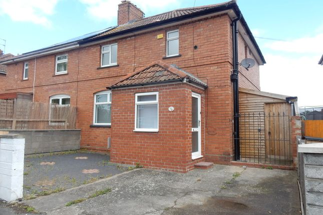 Thumbnail Semi-detached house to rent in Hartcliffe Road, Knowle, Bristol