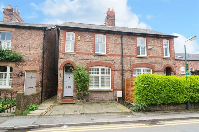 Thumbnail Semi-detached house to rent in Clifton Street, Alderley Edge, Cheshire