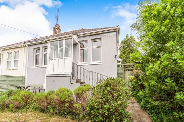 Thumbnail Semi-detached bungalow for sale in Wolseley Road, Plymouth