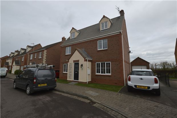 Thumbnail Detached house for sale in Walton Cardiff, Tewkesbury, Gloucestershire