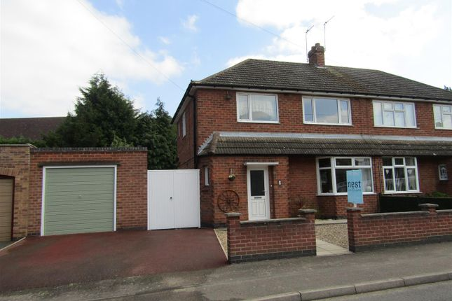 Thumbnail Semi-detached house for sale in Lime Grove, Blaby, Leicester