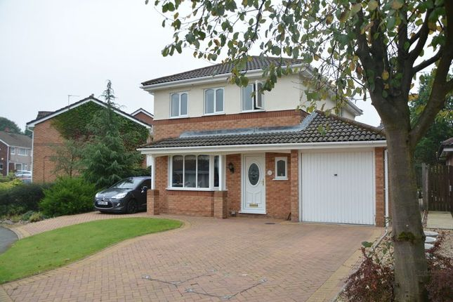 Thumbnail Detached house for sale in Ulverston Drive, Rishton, Blackburn