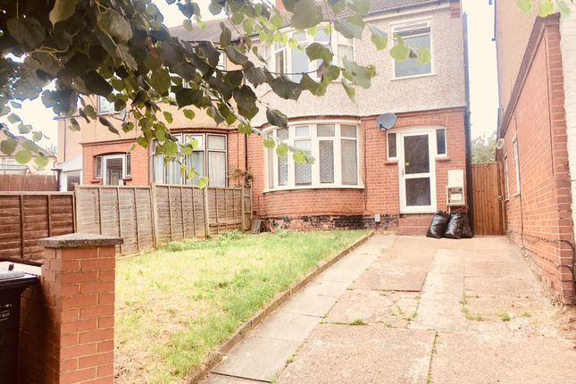 Thumbnail Shared accommodation to rent in Hillborough Road, Luton